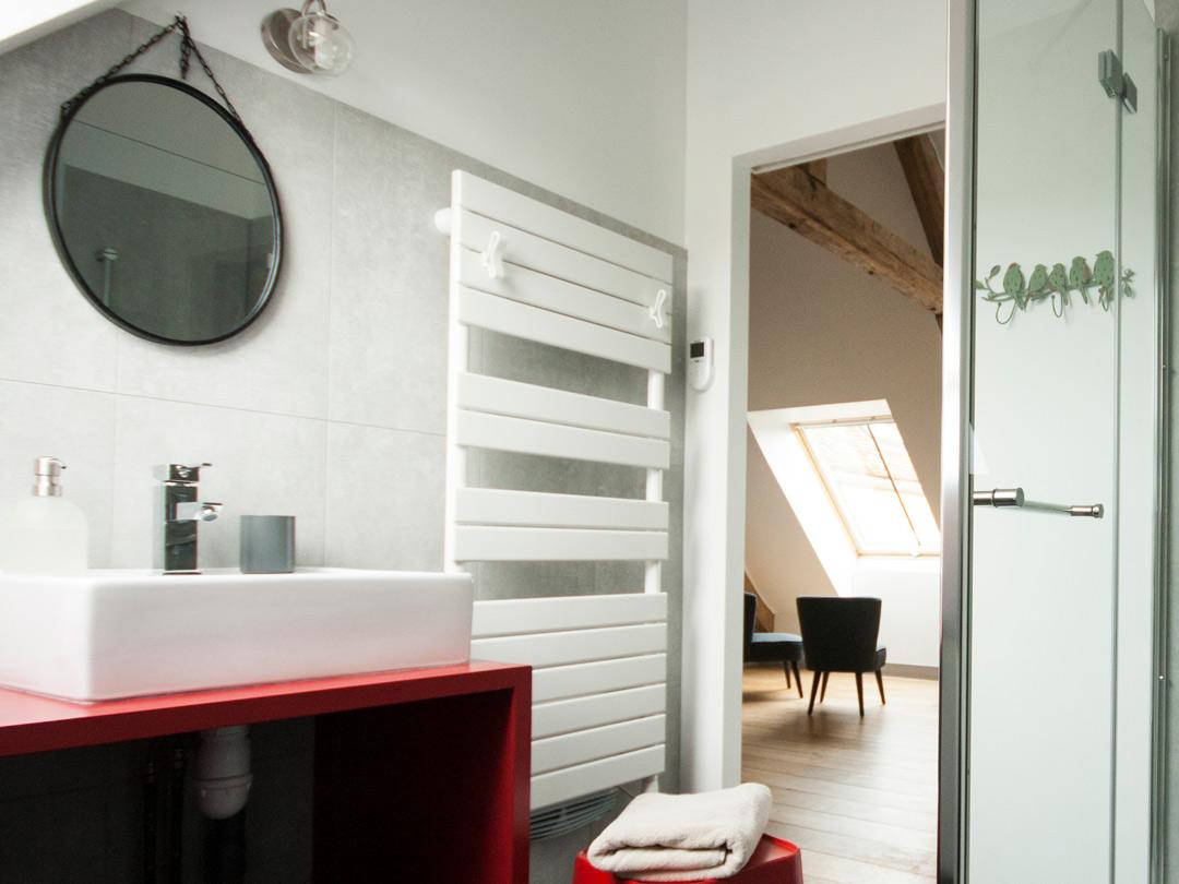Salle de douche chambre Valentine